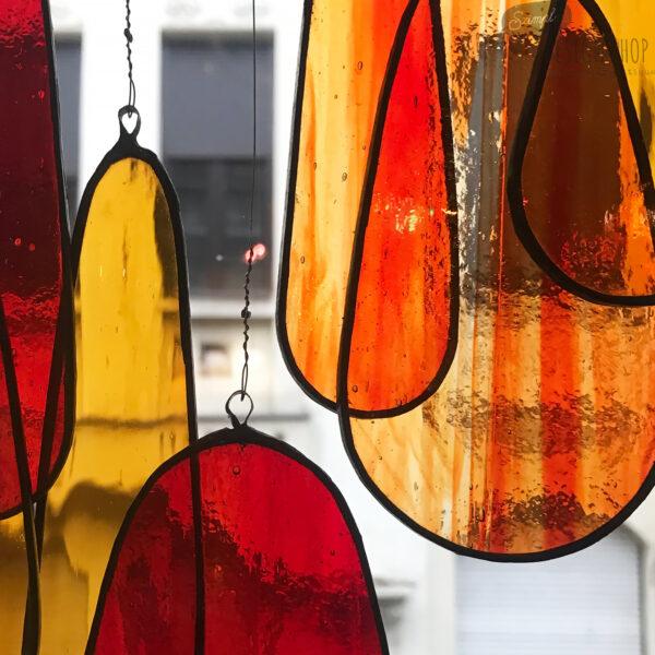 Üveg fénycsapda - Méz/piros