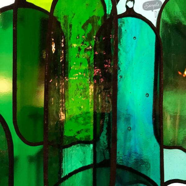 Üveg fénycsapda - Zöld hímpor