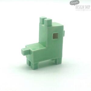 Porcelán kutya (zöld) - YUTTA design