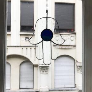 Hamsza (Miriam/Fatima/Mária keze) - kék fénycsapda