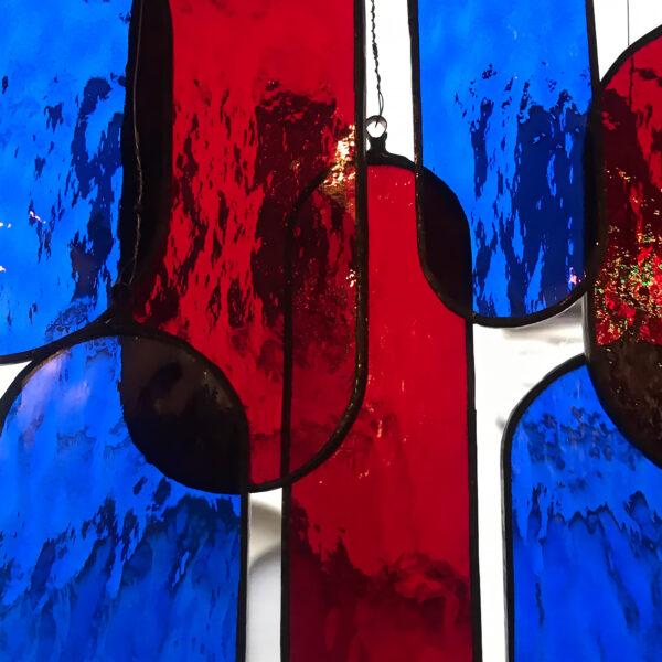 Üveg fénycsapda - Kék/Vörös