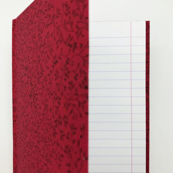 Piros növényindás füzet - Juditnotes