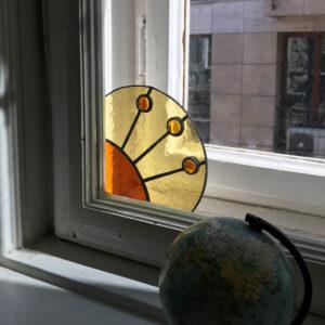 Üveg ablaksarok fénycsapda - sárga